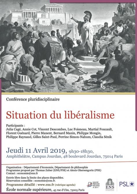 Conférence ENS Libéralisme