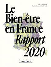 Couverture du livre Le bien-être en France, rapport 2020