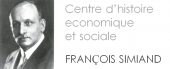 Center for Economic and Social History François Simiand