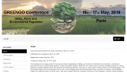 (16 - 17 mai) Conférence GREENGO à PSE - « NGOs, Firms and Environmental Regulation »