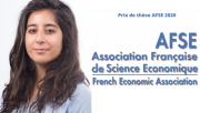 Laura Khoury: co-winner of the 2020 AFSE Thesis Prize