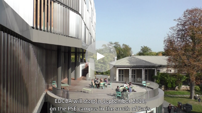 (video) Discover the new MSc EDCBA, a program jointly run by the Ecole des Ponts and the PSE